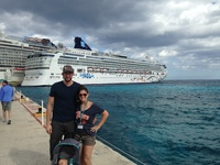 Costa Maya, Mexico. Get off and see the dolphins!!!!