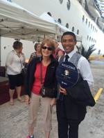 Me and Yacht Club Butler in Costa Maya