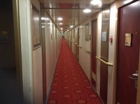 Hallway on deck 9