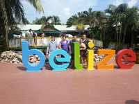 Belize.. shopping area near the port. Nice clean area