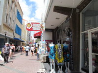 Shopping in Curacao.