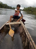 Optional ride in a dugout canoe...