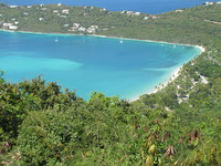 Beautiful St. Thomas...Magens bay