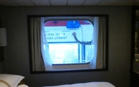The view from our picture window, room 6047.