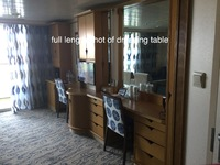 Cupboard space in suite