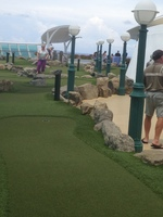 Mini putt. Great little course.