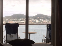 1245 cabin view of St. Thomas.  Great balcony!
