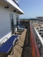 Premium Vista Balcony Wrap Around Deck