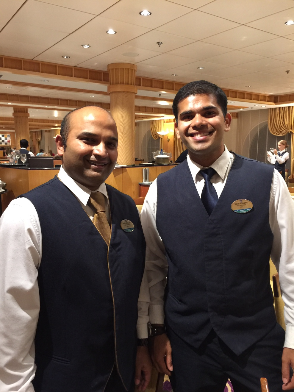 Our excellent wait staff.