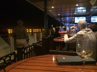 The Waterfront - nice area with bars and restaurants - outside seating