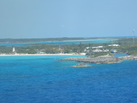 Leaving Half Moon Cay