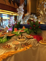 A special afternoon tea was one of the hits of the cruise