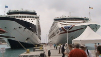 Tortola the new cruise terminal