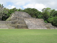 Great ruins at Altun Ha