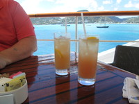 "We loved the ""drink of the day"" especially the Bon Voyage cocktail!"
