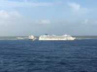 We went over the Costa Maya port like 3 times and the captain could' t deck but two differents ship could  Unbelievable...