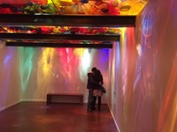 Lovers enjoy the Chihuly glass museum