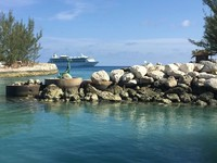 The ship from CocoCay