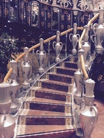 """""""urn"""" staircase"""