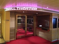 Broken Thrill Theater, NO out of order sign just locked doors the whole cruse.