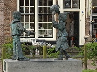 Wonderful  sculptures in Hoorn.