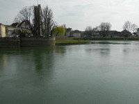 End of the line at Chalon-sur-Soane on the Soane River. A quiet day there as we prepared to leave
