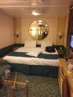 A picture of our roomy cabin!