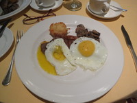A second featured breakfast as presented
