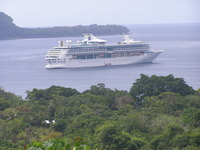 Legend of the Seas at Champagne Bay