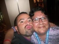 Me and Felipe, cruise director