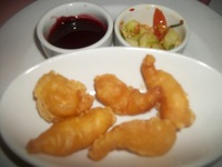 Fried Shrimp with Plum Sauce