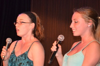 My 19 and 17 year old daughters loved Kareoke every night!