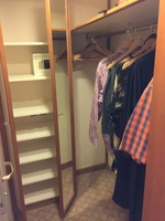 Cabin Wardrobe space - D403 (mini suite MA)
