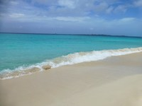 Cabbage Beach, Paradise Island - Nassau.  East of Atlantis is where you wanna be, the farther east the better if you like to avoid crowds!