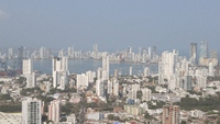 City of Cartagena from La Popa Monastery