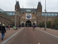 One of the museums in Amsterdam
