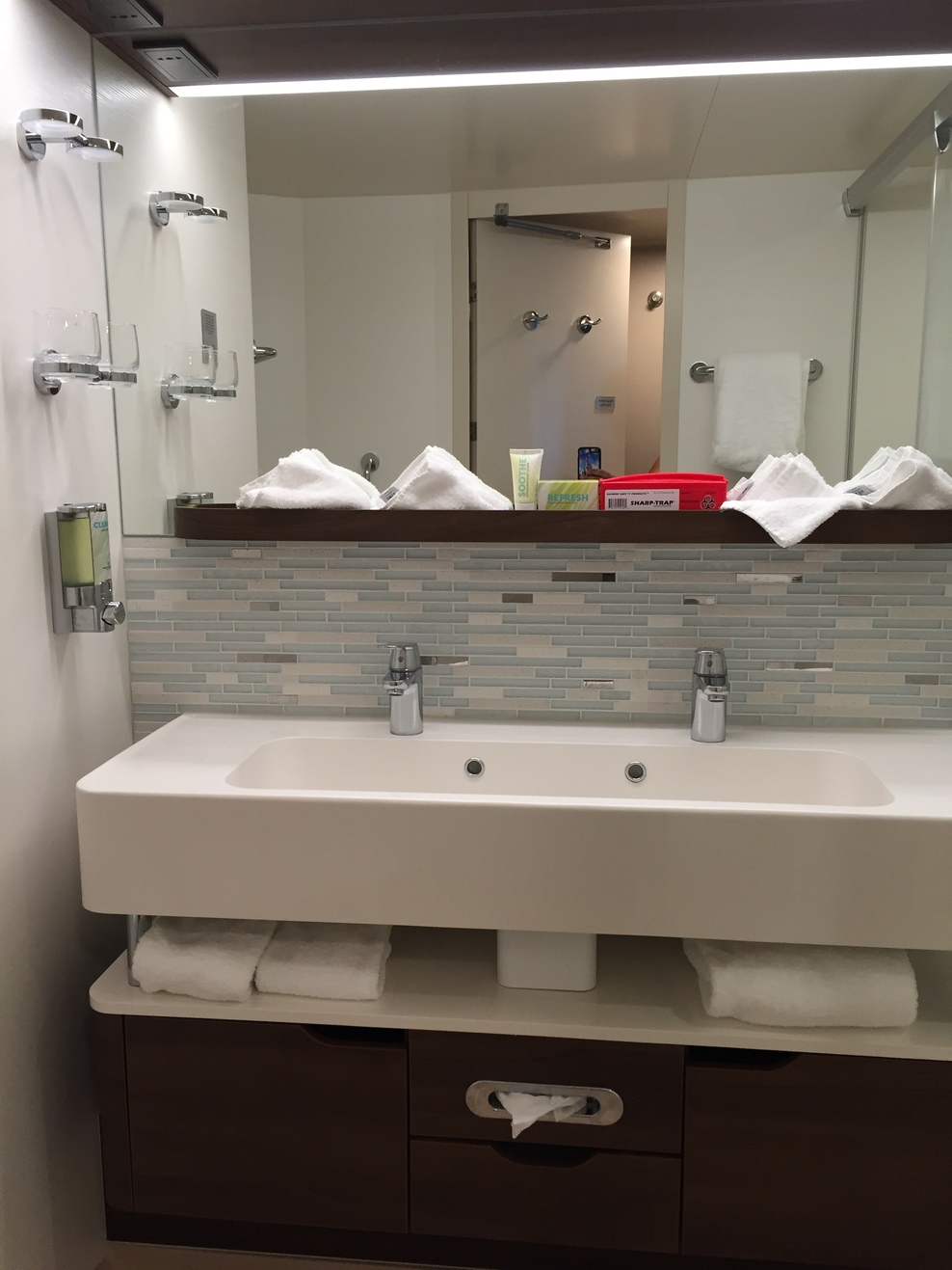 Midship mini suite bathroom