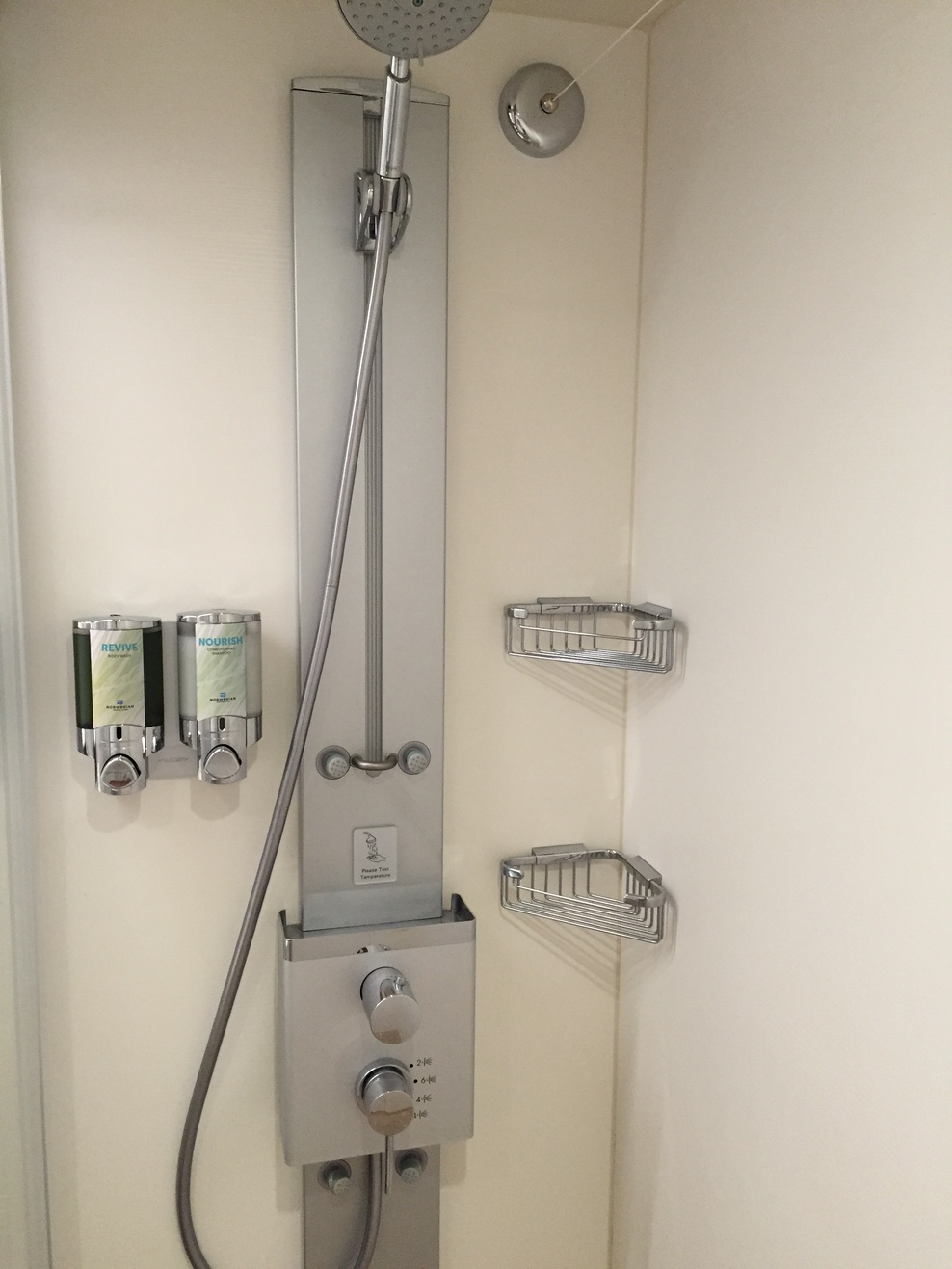 7 shower heads in shower: Norwegian Escape Cruise Ship - Cruise Critic