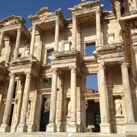The Library at Ephesus, Turkey