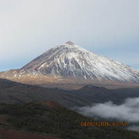 We were on the way to Mt Teide on Tenerife.