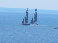 Practice for the Americas cup