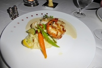 Lobster in specialty restaurant Murano