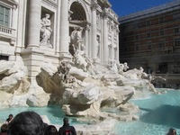 Included shore excursion was a full day in Rome.  Donated another coin to the Trevi Fountain