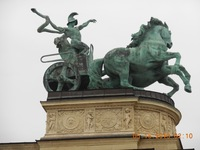 Amazing Statuary in Budapest Shows Strength and History of People