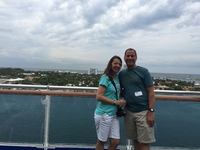 Sailing out of Port Everglades/Ft. Lauderdale