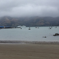Not a great day in Akaroa.