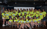 Our group that was on the ship all 50 of us