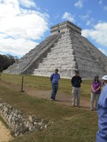 Mayan Temple of Chichen Itza, Mexico