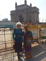 The Gateway to India in Mumbai, India