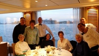 last dinner onboard.  the staff we had for meals was fantastic. thank you